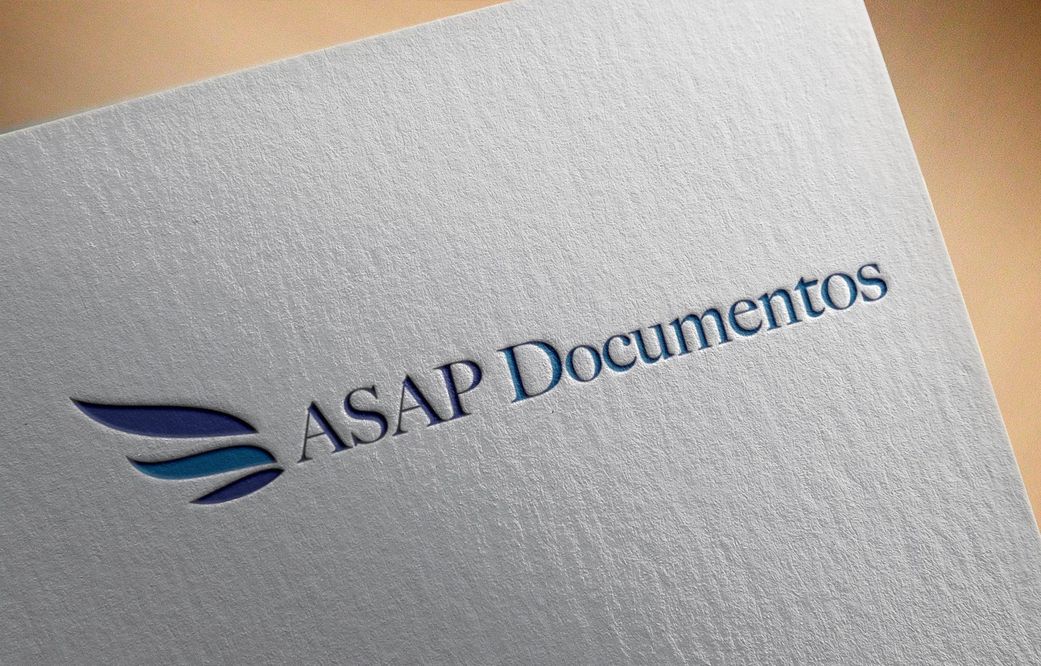 Criação de logo documentos