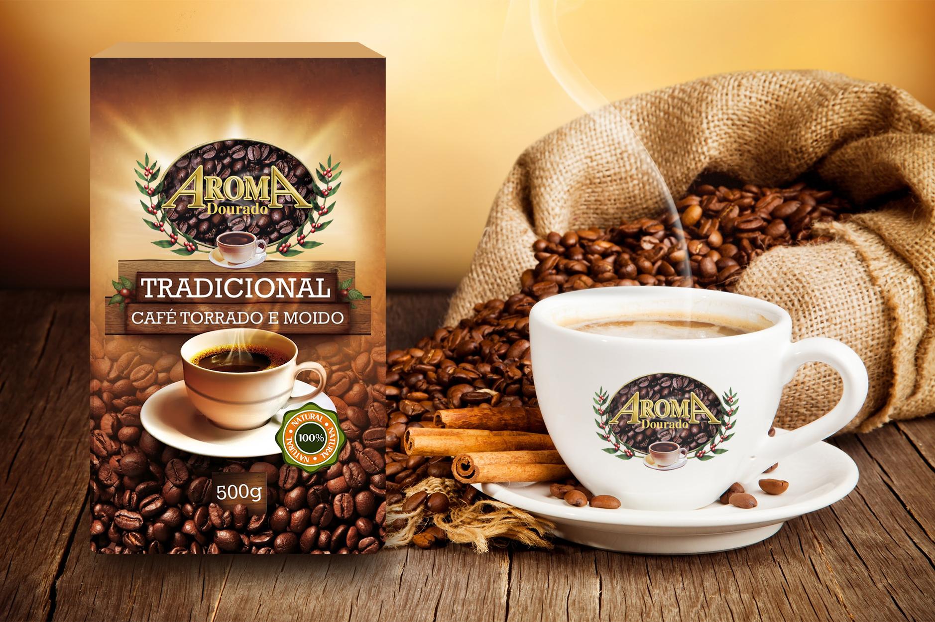 design de embalagem café