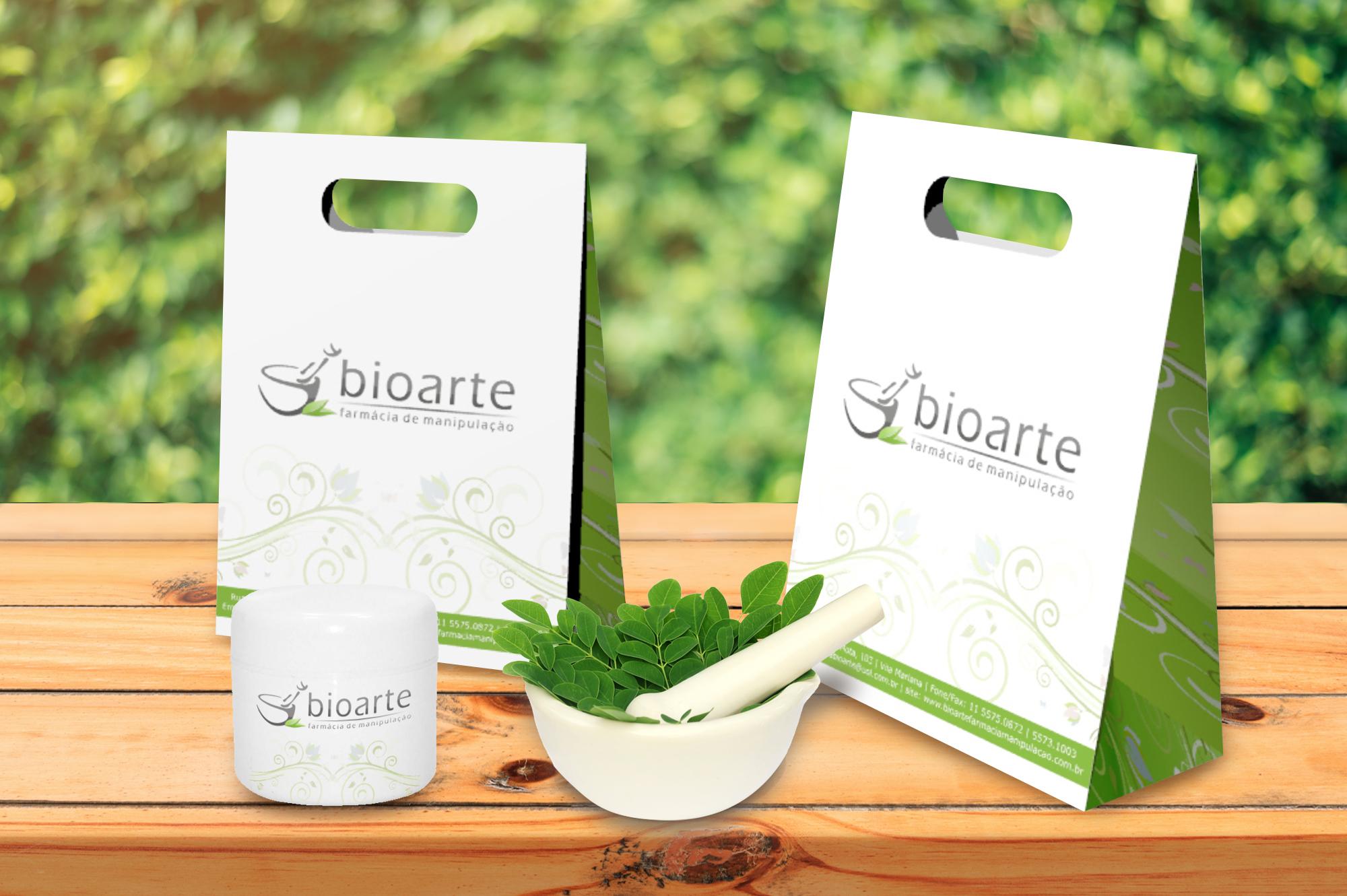 design de embalagem sacolas