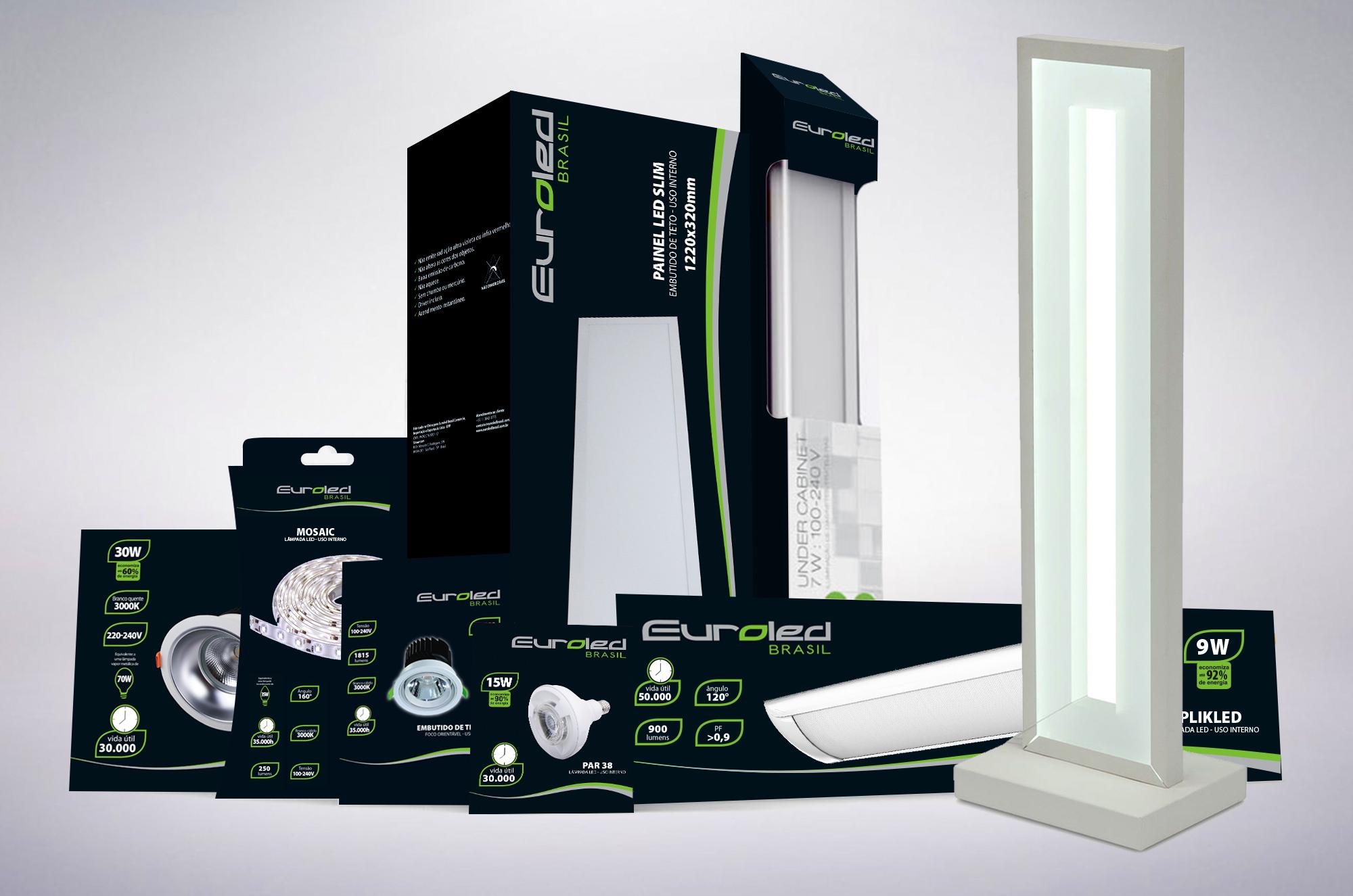 design de embalagem lâmpadas