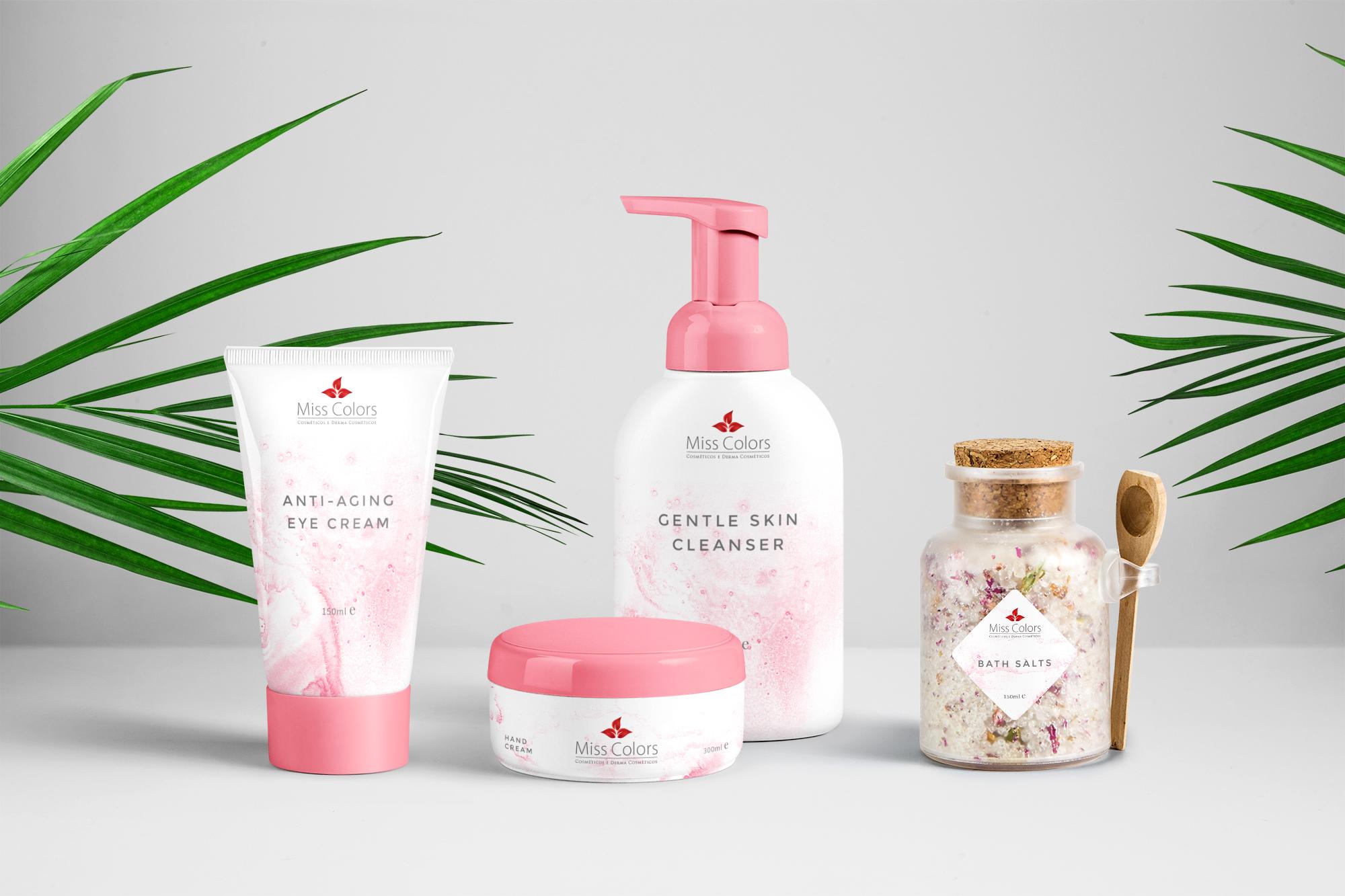 design de embalagem cosméticos
