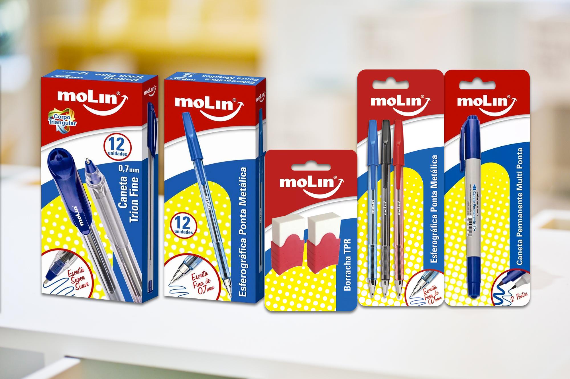 design de embalagem canetas