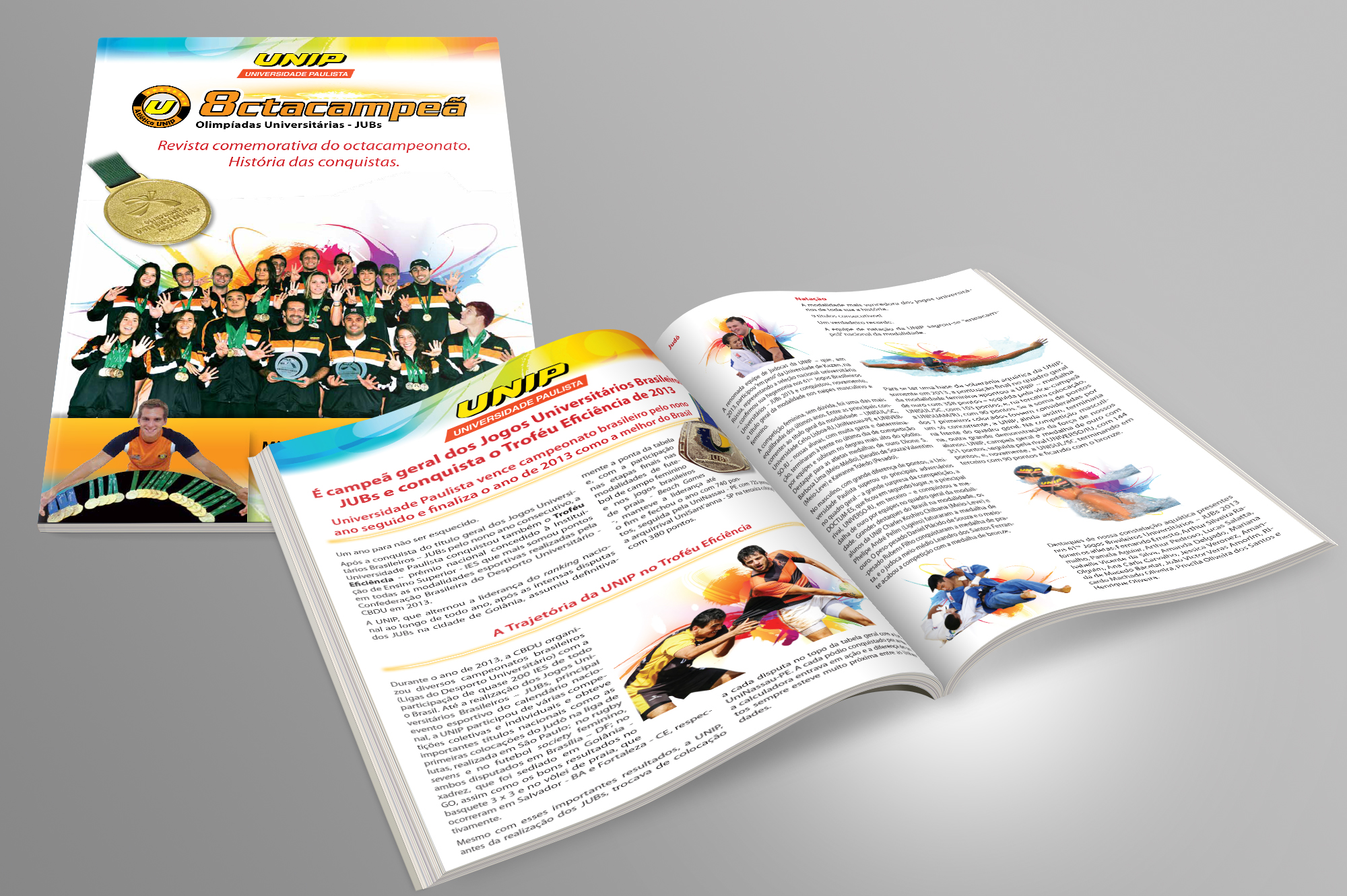 diagramação revista UNIP