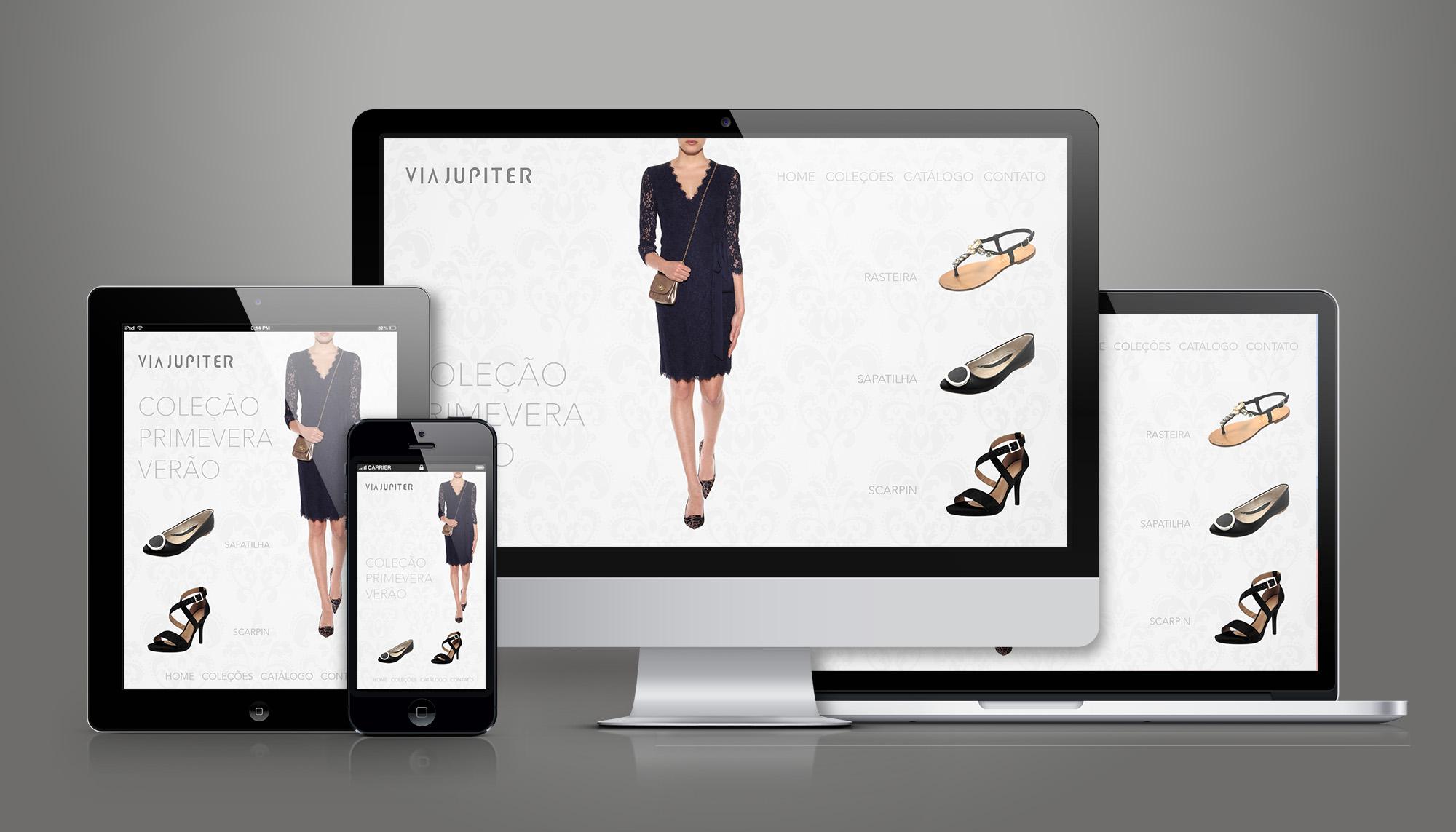 site wordpress sapato feminino